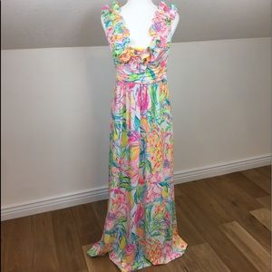 NWT Lilly Pulitzer Leena Maxi Dress Size M(8)